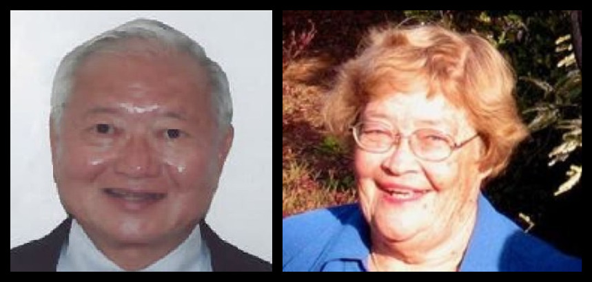 Dr. Alvin T. Onaka (L) and Eleanor C. Nordyke (R) (Image credits: PubFacts, WMC)